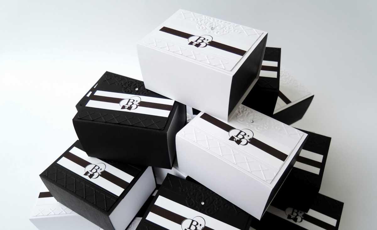 9-bonbonerki-v-cherno-belom-tsvete Подбираем черно-белый декор для стильной свадьбы