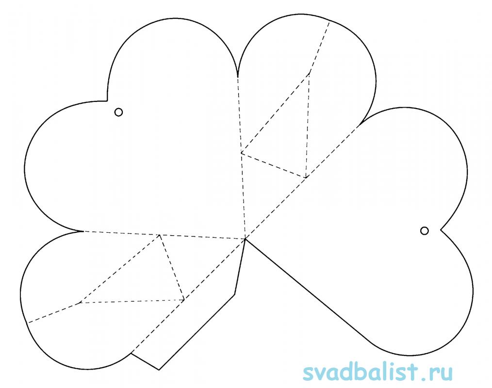 9-seredchko-sumochka 10 простых схем для изготовления свадебных бонбоньерок своими руками