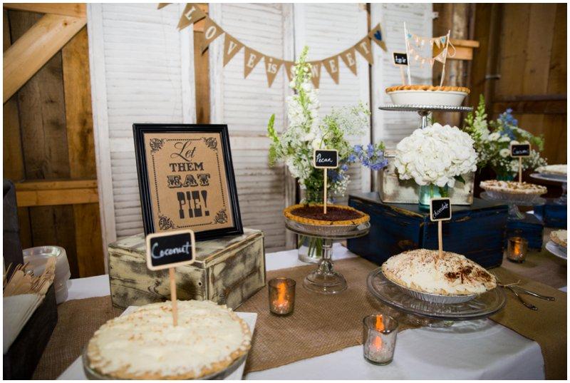PIE-BAR Десертный стол из пышной выпечки для свадебного торжества