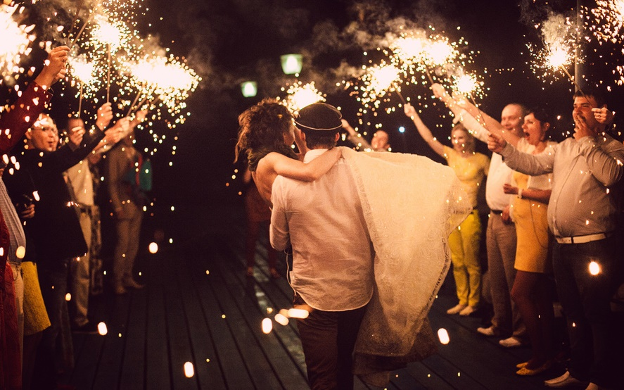 Бенгальские огни большие на свадьбу