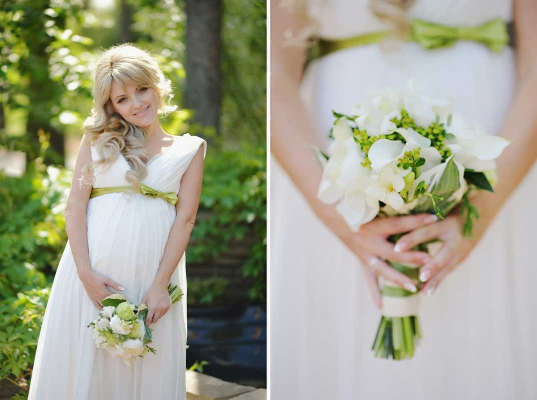beremennost-i-svadebnaya-fotosemka Фотосессия беременной невесты на свадьбе