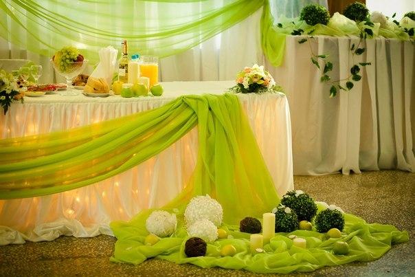 ТОП-8 идей по оформлению стола жениха и невесты