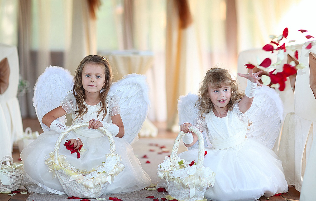 Малышка на свадьбе фото