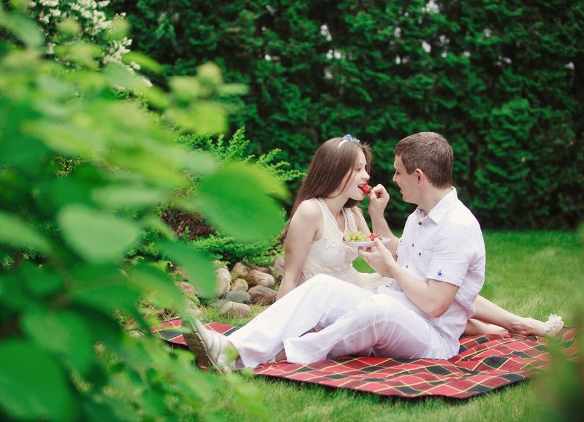foto-svadebnoe-piknik Свадебная фотосессия в форме пикника, сочетаем приятно с полезным
