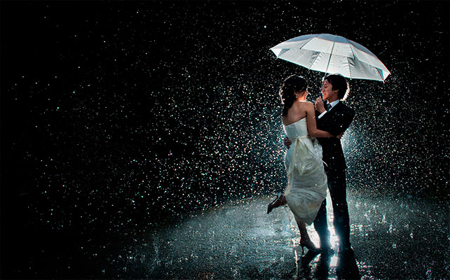 fotografii-molodozhenov-pod-dozhdem Свадебная фотосессия под дождем