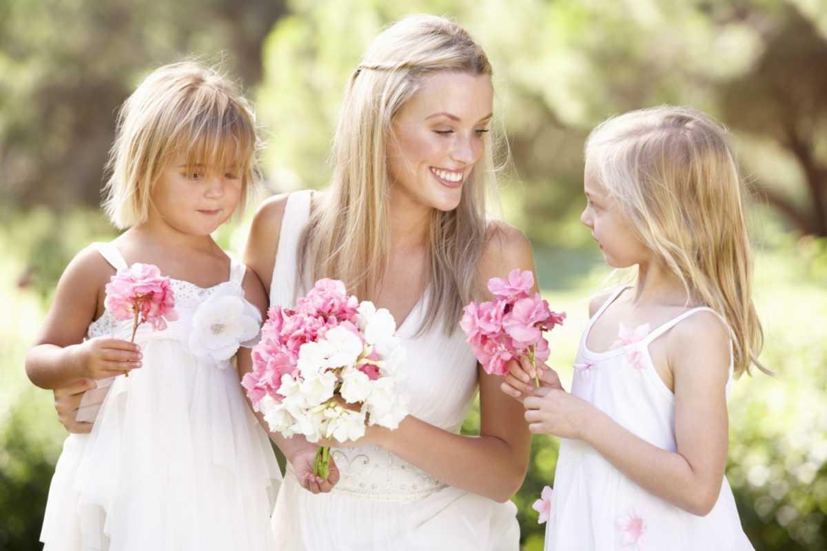 С мамиными подружками 4 фотография