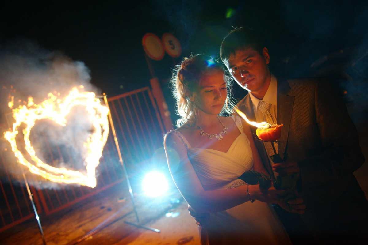 fotosemka-svadebnaya-nochyu Свадебная фотосессия ночью