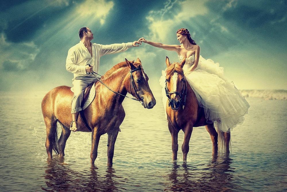 fotosessiya-na-loshadyah Свадебная фотосессия с лошадьми