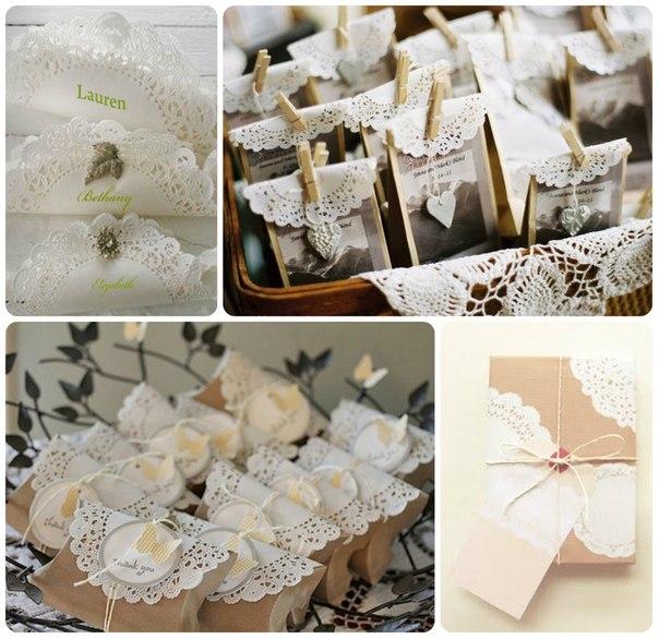 ispolzovanie-azhurnyh-salfetok-na-svadbe Ажурные салфетки для создания декора и украшений для свадьбы