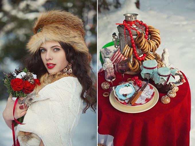 kendi-bar-v-ruskom-narodnom-stile Как создать десертный стол для свадьбы в русском стиле без привлечения оформителей?