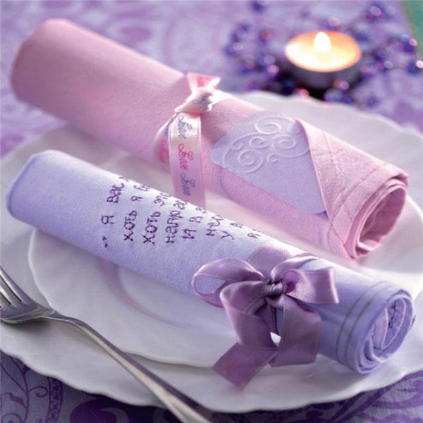 koltsa-dlya-salfetok-iz-lent ТОП-10 колец для салфеток для сервировки свадебного стола