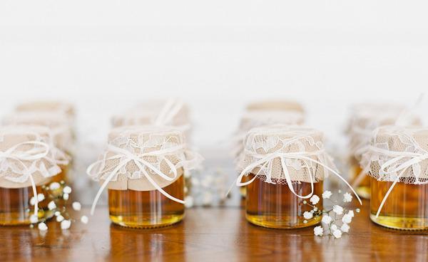 Баночки с медом на свадьбу своими руками 19