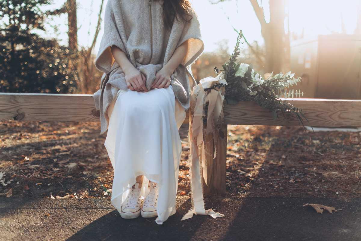 nevesta-v-kedah Кеды вместо туфель для невесты на свадьбу