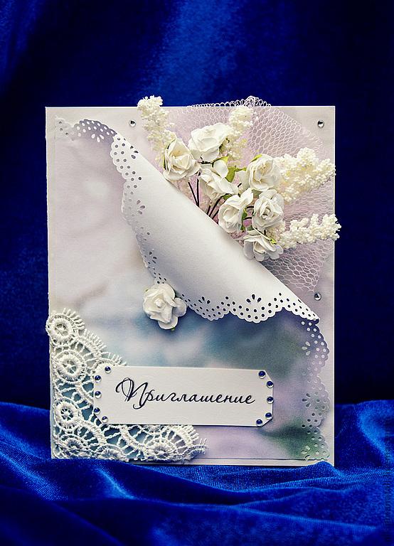 nezhnoe-priglshaenie-v-tehnike-skrapbuking-na-svadbu Свадебные приглашения в технике скрапбукинга