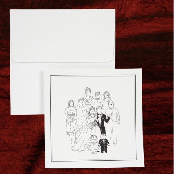 prostoe-svadebnoe-priglashenie ТОП-5 свадебный приглашений в стили минимализм, которые можно изготовить самостоятельно