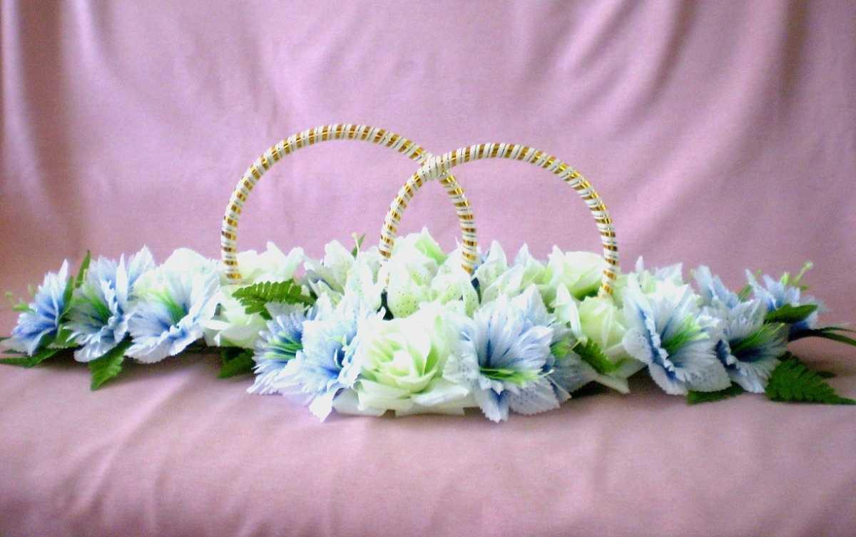 tonkie-svadebnye-koltsa-dlya-mashiny Виды декоративных колец для декора свадебного кортежа