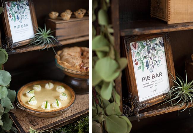 variant-pie-bar Десертный стол из пышной выпечки для свадебного торжества