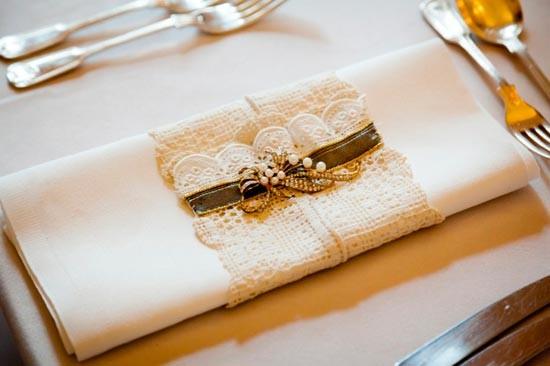 vintazhnye-salfetki-dlya-svadby Салфетки в сервировке стола, необычный декор или простой предмет необходимости