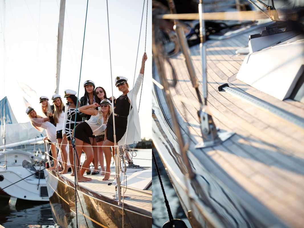 Летний девичник на пароходе: отличная идея для предсвадебной вечеринки с подругами