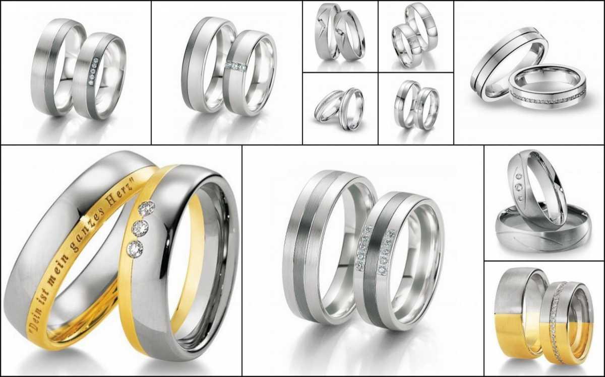 Свадебные кольца ручной работы