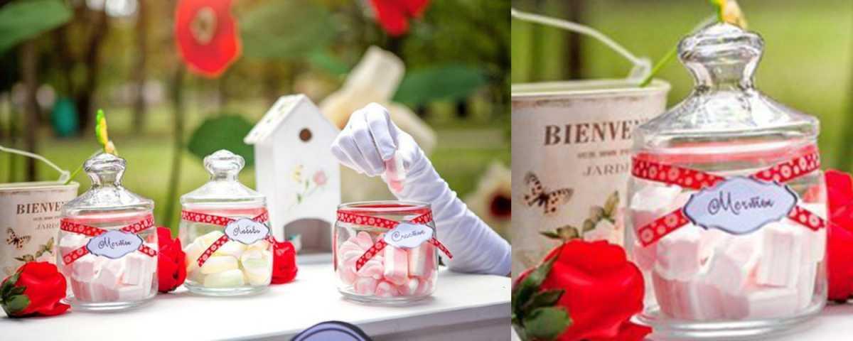 banchki-dlya-gostej-v-podarok Вместо свадебных бонбоньерок баночки, в подарок гостям на свадьбу
