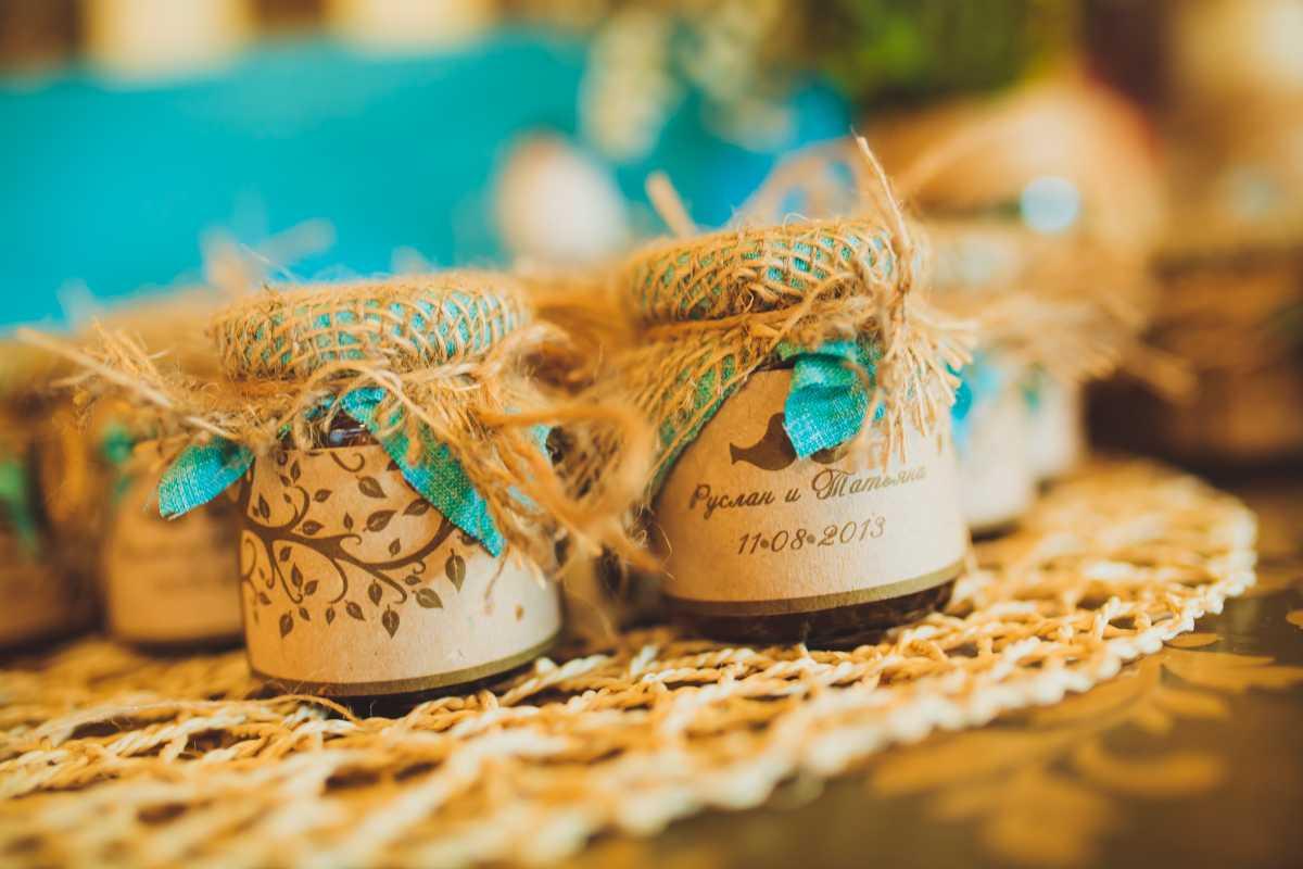 Подарки на свадьбу гостям купить спб