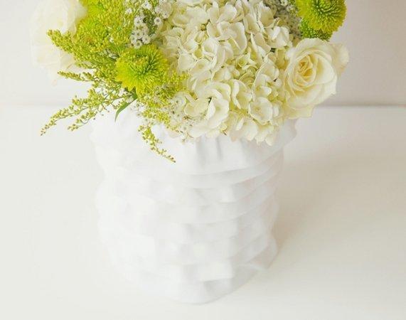 dekor-vaz-na-svadbu-tkanyu ТОП-10 бюджетных вариантов декора ваз на свадьбу