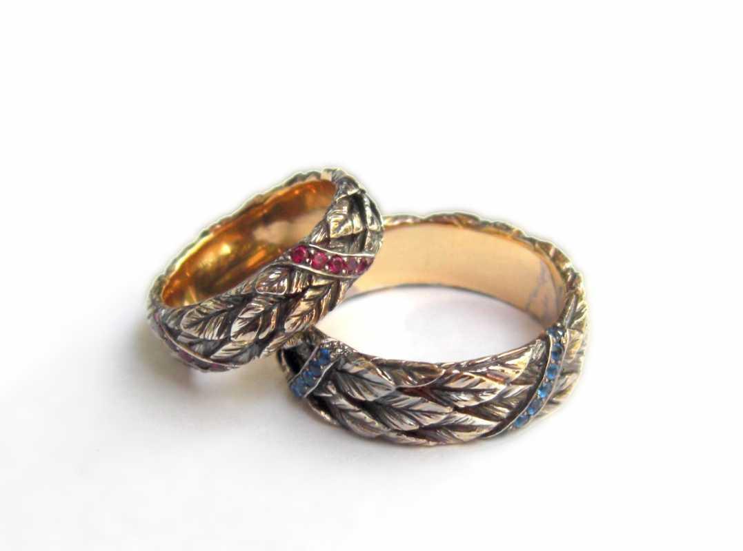 koltsa-na-svadbu-ruchnoj-raboty Свадебные кольца ручной работы