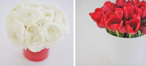servirovka-svadebnogo-stola-v-krasno-belom-stile-2 Сервировка свадебного стола в красно-белом цвете
