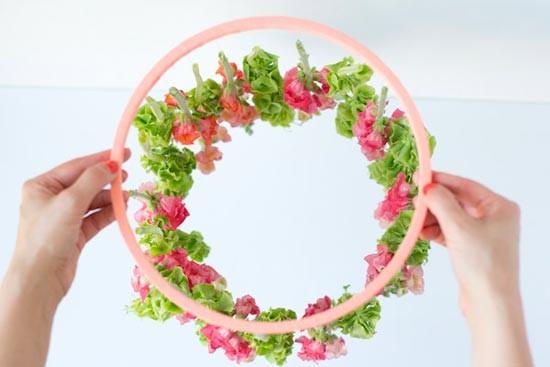 shag-2 Мастер-класс: свадебный роскошный канделябр из ярких цветов