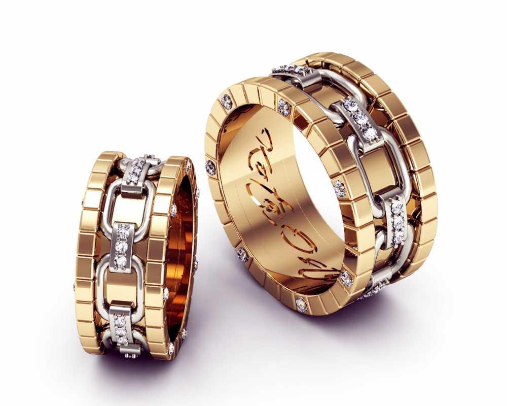 svadebnye-koltsa-ruchnoj-raboty-s-kamnyami Свадебные кольца ручной работы