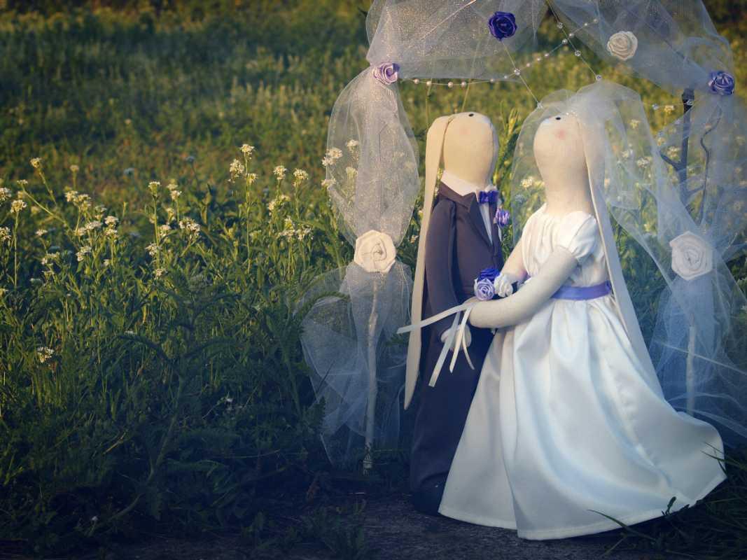 svadebnye-tildy-zajtsy Тильда - удивительная свадебная кукла