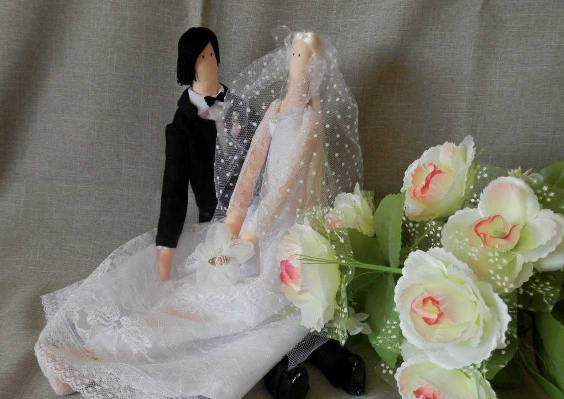 svadebnye-tildy-zhenih-i-nevesta Тильда - удивительная свадебная кукла