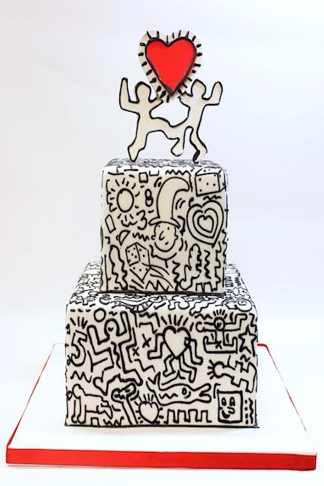 svadebnye-torty-graffiti Искусство граффити в декоре свадьбы