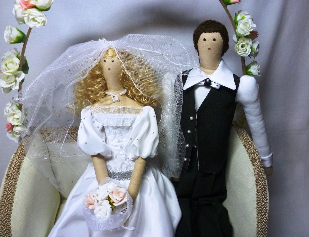 tildy-kukly-na-svadbu Тильда - удивительная свадебная кукла