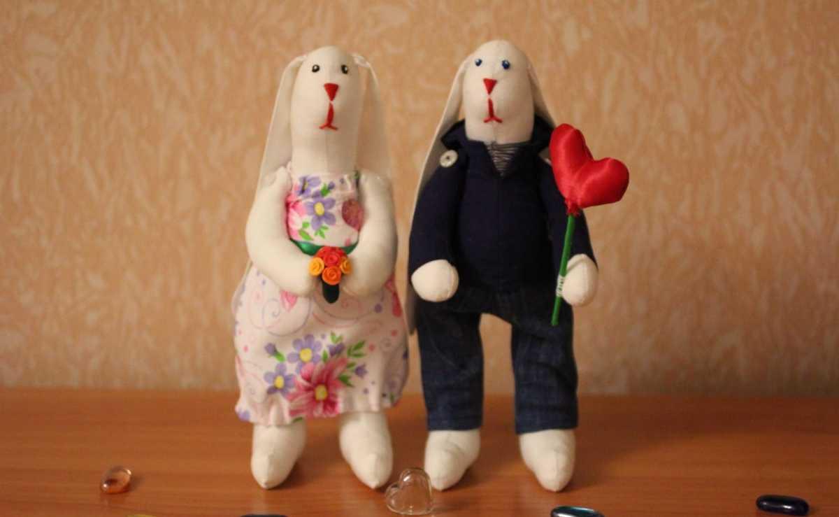 zajtsy-tildy-svadebnye Тильда - удивительная свадебная кукла