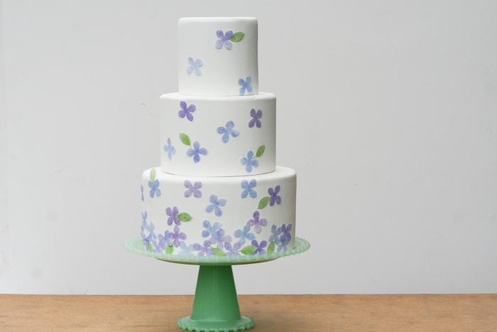 1-Dekor-torta-v-akvarelnom-stile-svoimi-rukami Мастер-класс: Декор торта в акварельном стиле своими руками