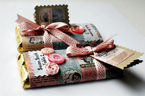 Как необычно подарить шоколадки на свадьбу