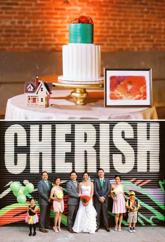"""Свадьба в стиле мультфильма """"Вверх"""" учимся сочетать мультипликационный стиль и романтику в одной тематике торжества"""