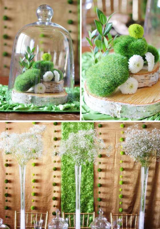 1-svadba-v-stile-zelenogo-sada Яркая и сочная зеленая свадьба в стиле зимнего сада, простые идеи для вдохновения