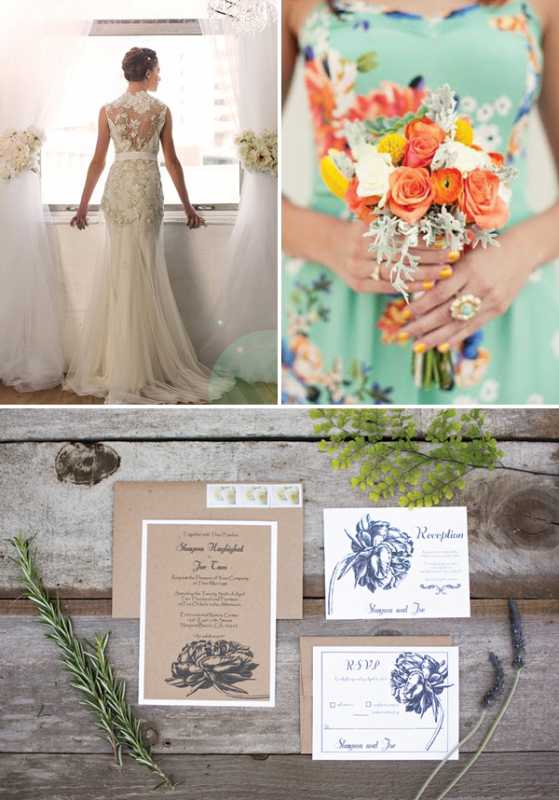 Удивительные и яркие цветочные мотивы для летней свадьбы, как правильно использовать такой принт