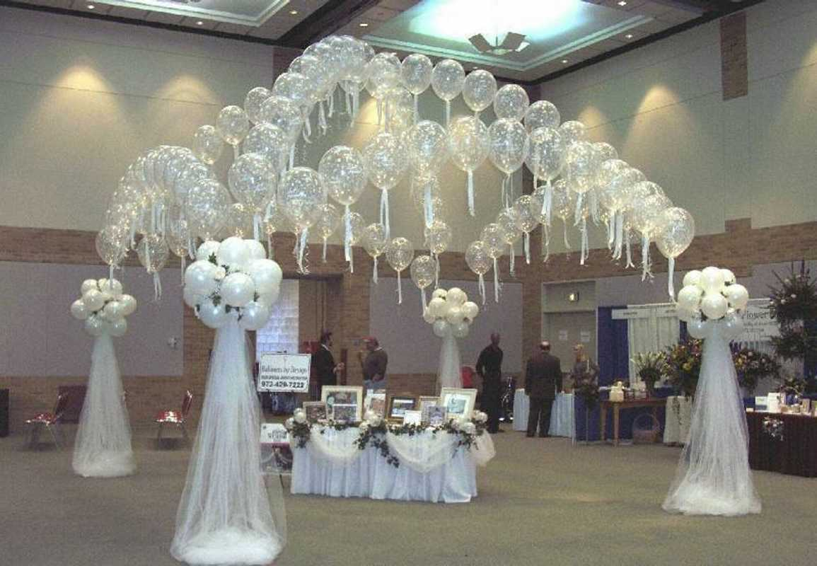 Arka-iz-sharov-na-svadbu-5 Арка из шаров на свадьбу бюджетный и довольно оригинальный вариант оформления торжества