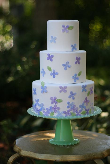 Dekor-torta-v-akvarelnom-stile-svoimi-rukami-11 Мастер-класс: Декор торта в акварельном стиле своими руками