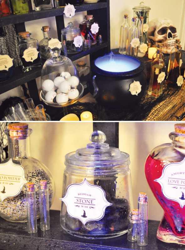 Delaem-dekor-svadby-v-stile-Garri-Pottera-5 Делаем декор свадьбы в стиле Гарри Поттера