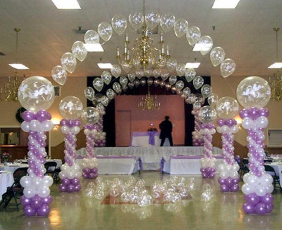 Svadebnye-zaly-oformlenie-sharami-foto-idei-4 Свадебные залы оформление шарами фото идеи