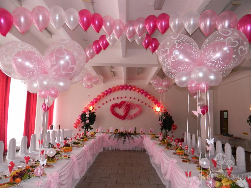 Svadebnye-zaly-oformlenie-sharami-foto-idei-5 Свадебные залы оформление шарами фото идеи