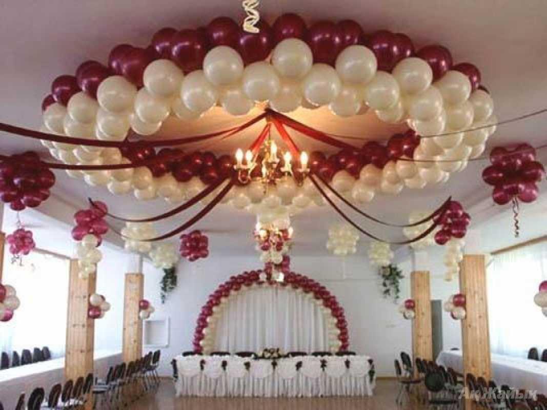 Svadebnye-zaly-oformlenie-sharami-foto-idei-9 Свадебные залы оформление шарами фото идеи