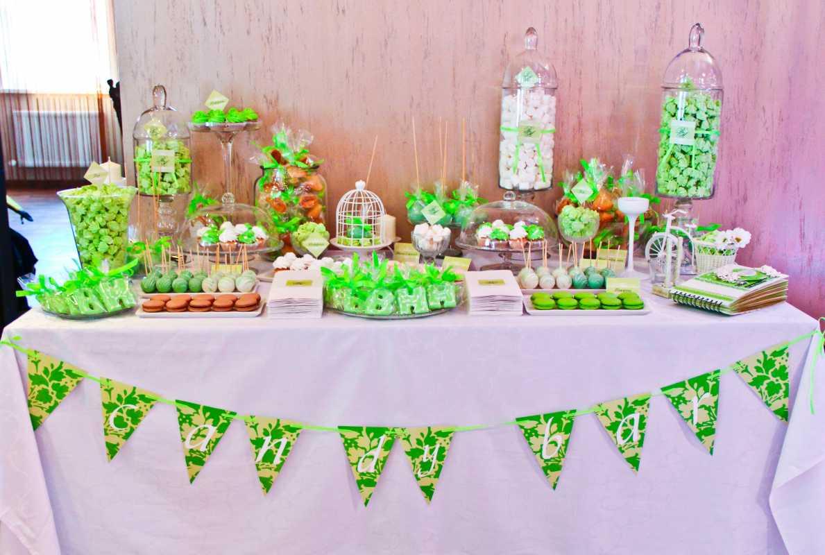 Zelenoe-svadebnoe-oformlenie-Kendi-Bara-4 Свадьба в зеленом и зеленое свадебное оформление Кэнди Бара