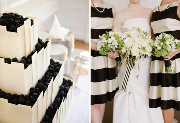 poloski-v-dekore-svadebnogo-torzhestva-22 Яркая полоска в декоре свадьбы, поможет разнообразить любое свадебное торжество