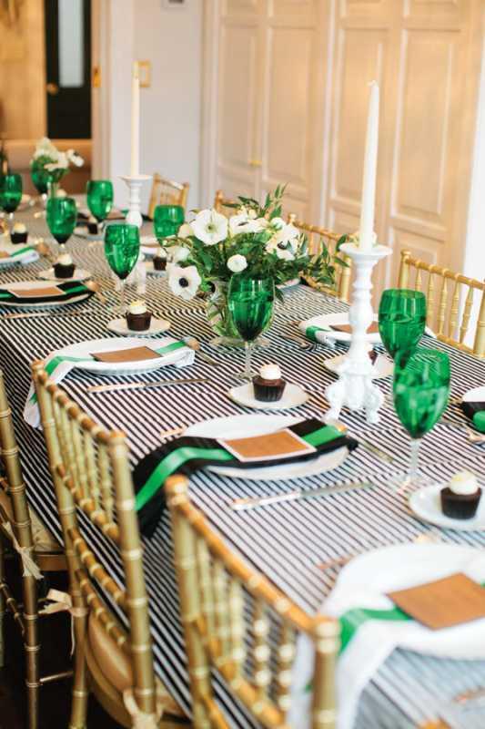 poloski-v-dekore-svadebnogo-torzhestva-52 Яркая полоска в декоре свадьбы, поможет разнообразить любое свадебное торжество